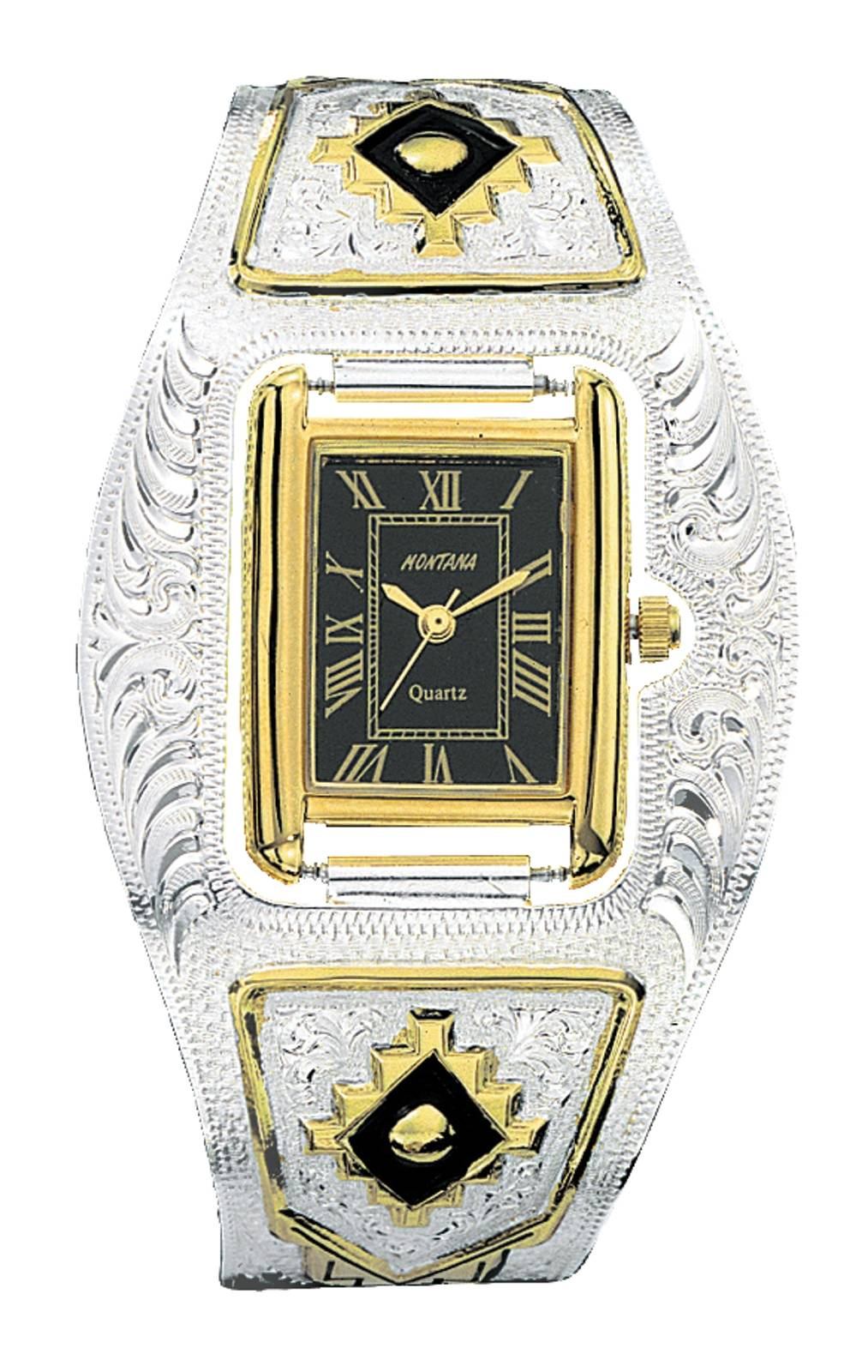 Montana Silversmiths Ladies Southwest Cuff Watch
