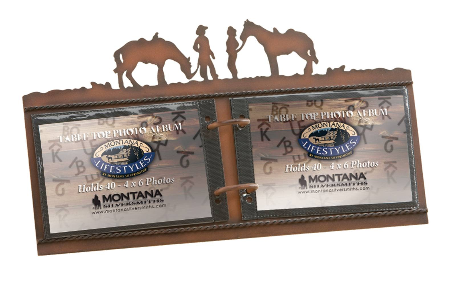 Montana Silversmiths Between Friends Metal Flip Album