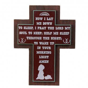 Montana Silversmiths Little Boy's Bedtime Prayer Sign