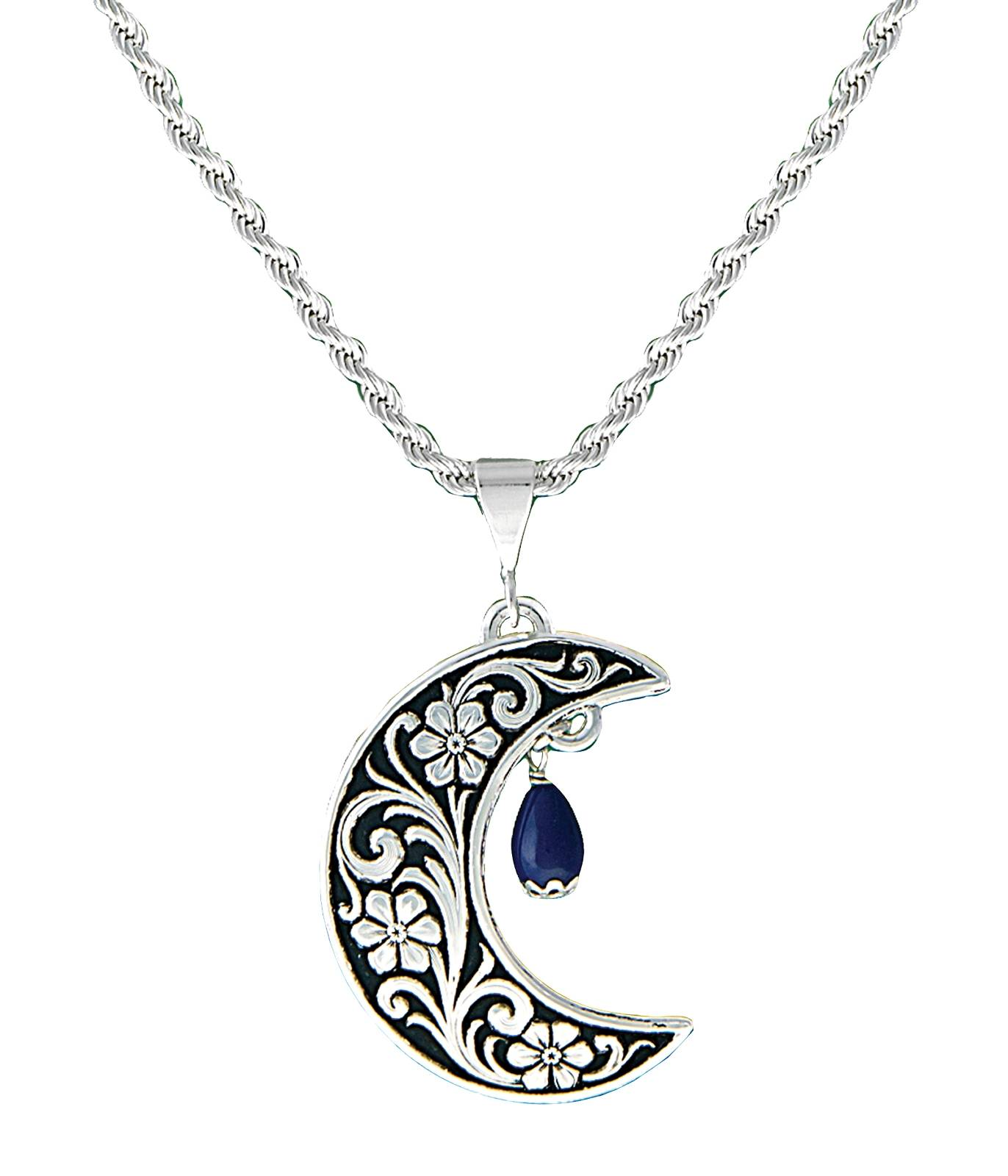 Montana Silversmiths Half Moon Treasure Necklace