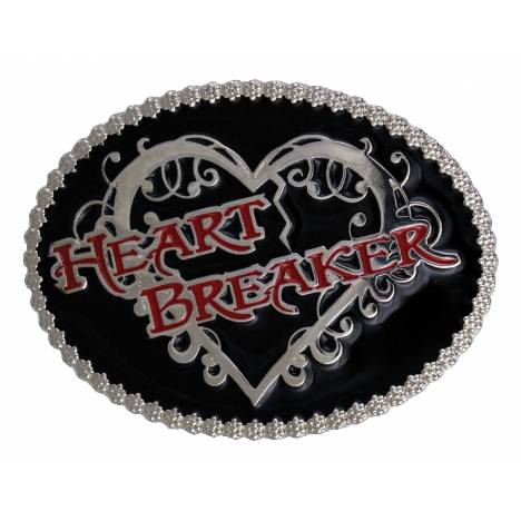 Montana Silversmiths Heart Breaker Attitude Belt Buckle