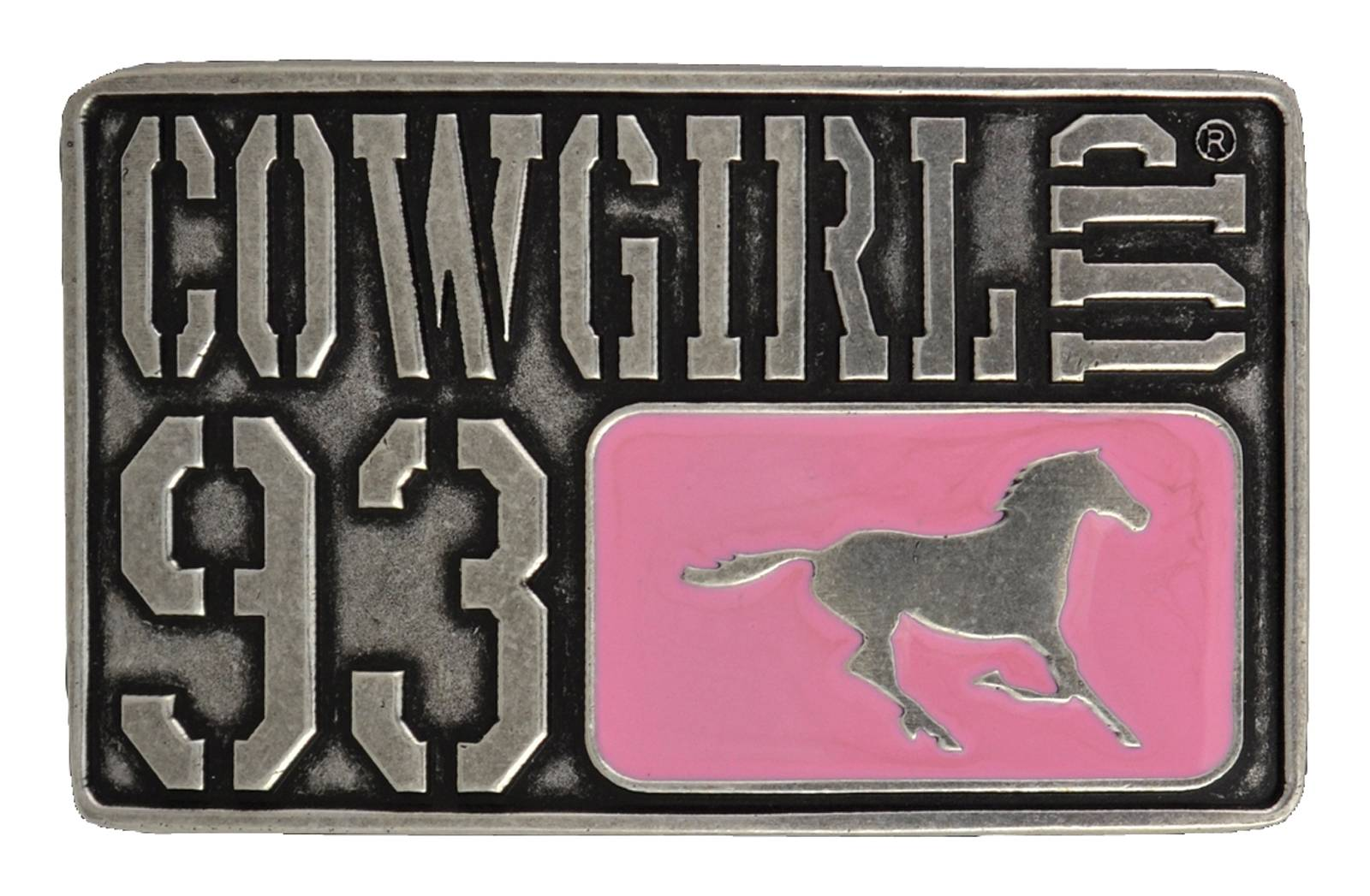 Montana Silversmiths License to Cowgirl Up Attitude Buckle
