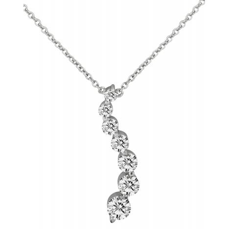 Kelly Herd .925 Sterling Silver Journey Necklace