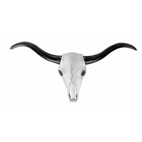 Kelly Herd .925 Sterling Silver Texas Longhorn Pendant
