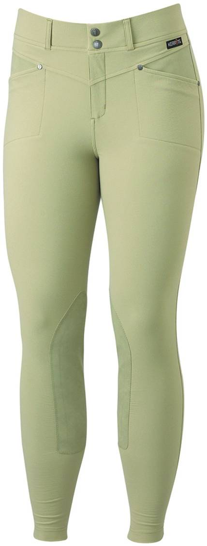 Kerrits Ladies Cross-Over Kneepatch Breech