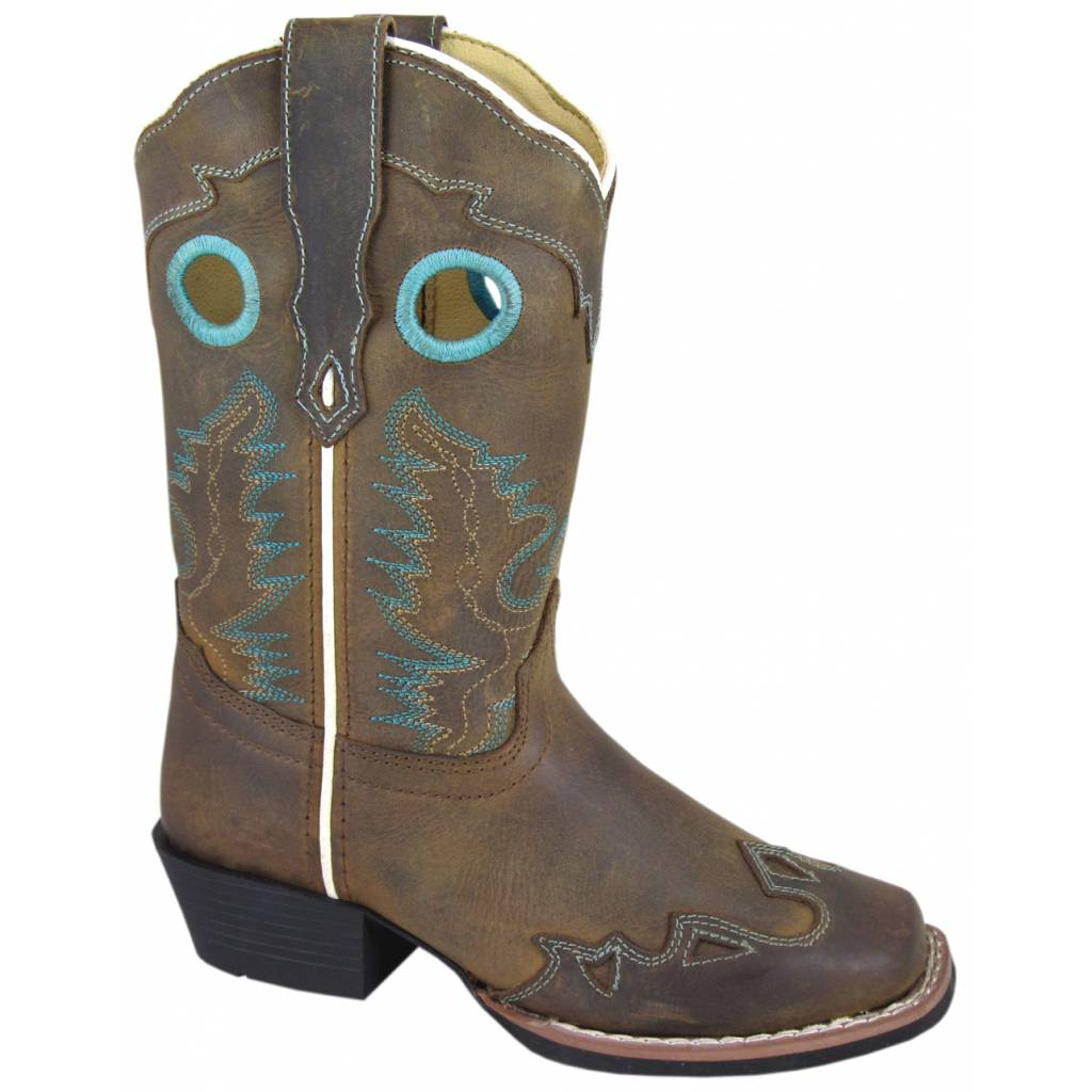 Smoky Mountain Kids El Dorado Leather Western Boot