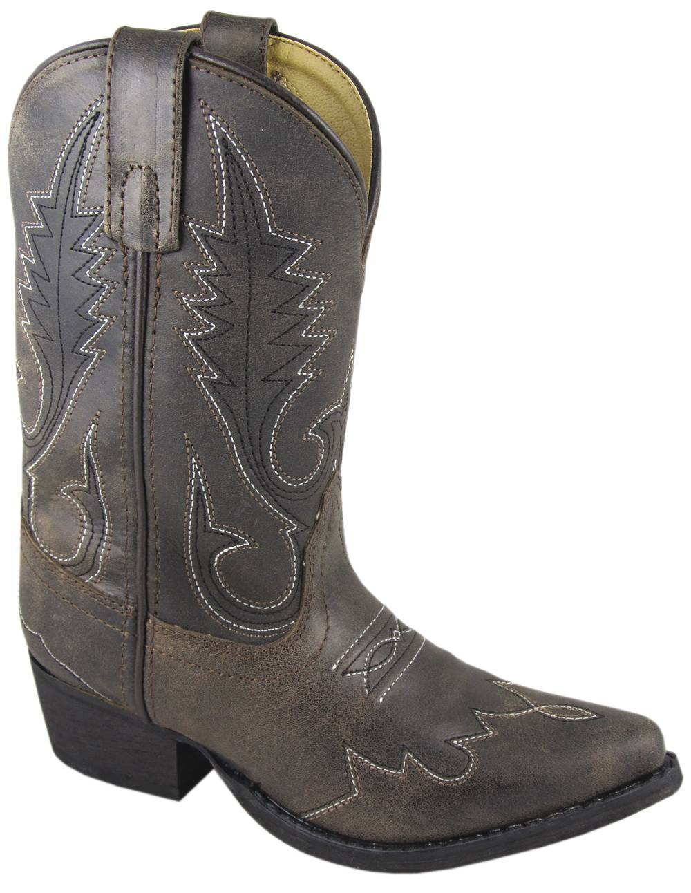 Smoky Mountain Kids Lasso Leather Western Boot