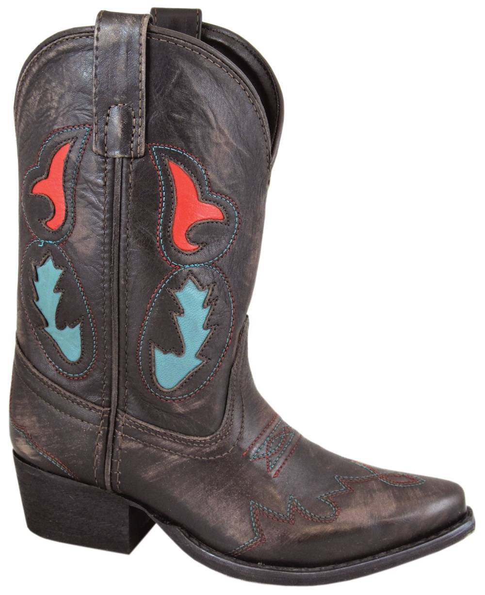 Smoky Mountain Kids Madera Leather Western Boot