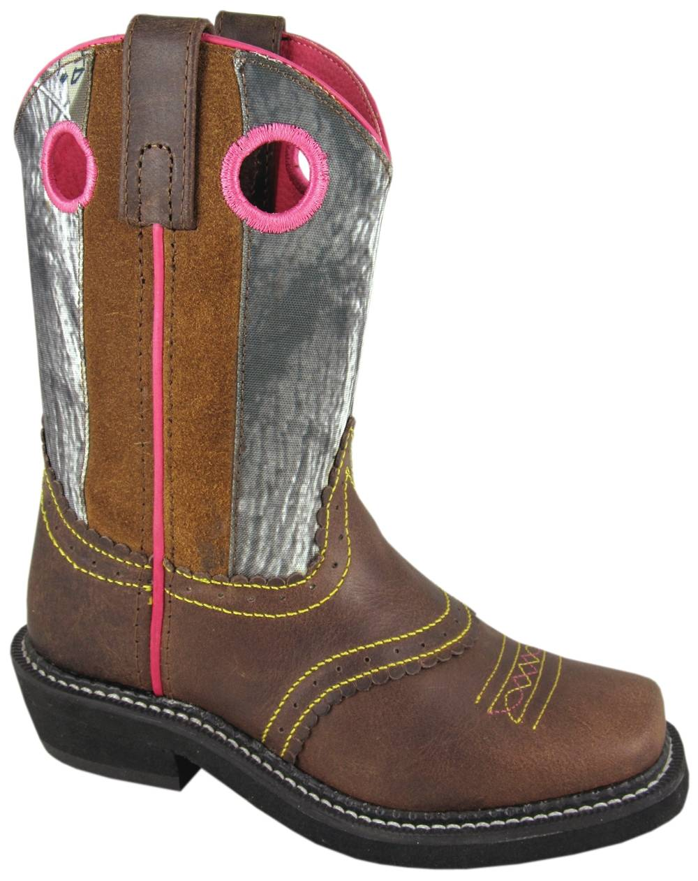 OPEN BOX ITEM: Smoky Mountain Kids Pawnee Leather Western Boot