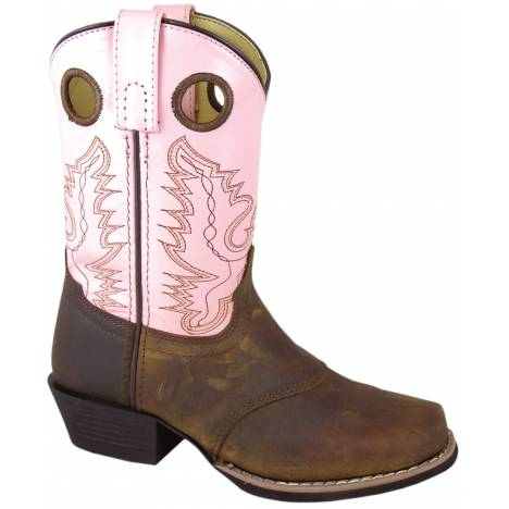 Smoky Mountain Youth Sedona Leather Western Boot