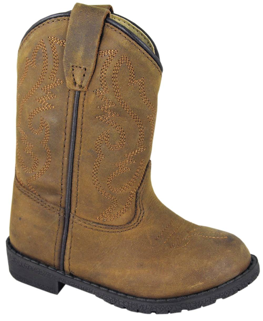 Smoky Mountain Toddler's Hopalong Leather Boots