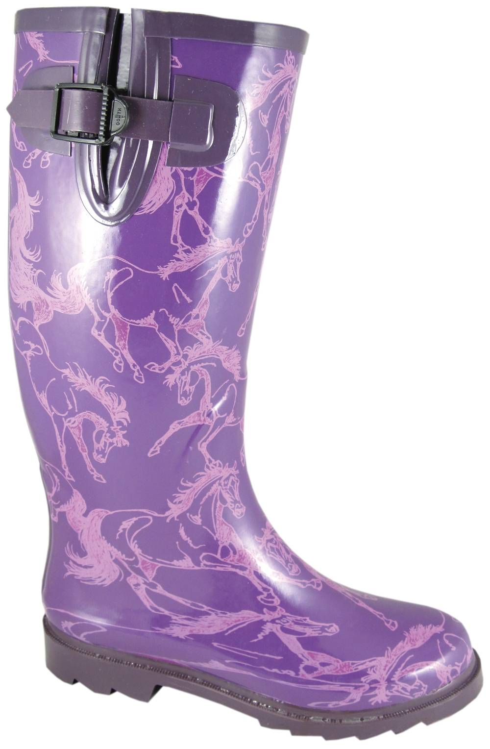 Smoky Mountain Ladies Dancing Horses Waterproof Boots