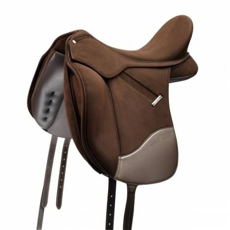 Wintec Isabell Saddle With Adjustable Stirrup Bar - Flocked