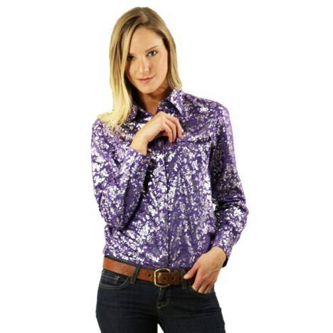 Outback Trading Casabella Faux Suede Shirt
