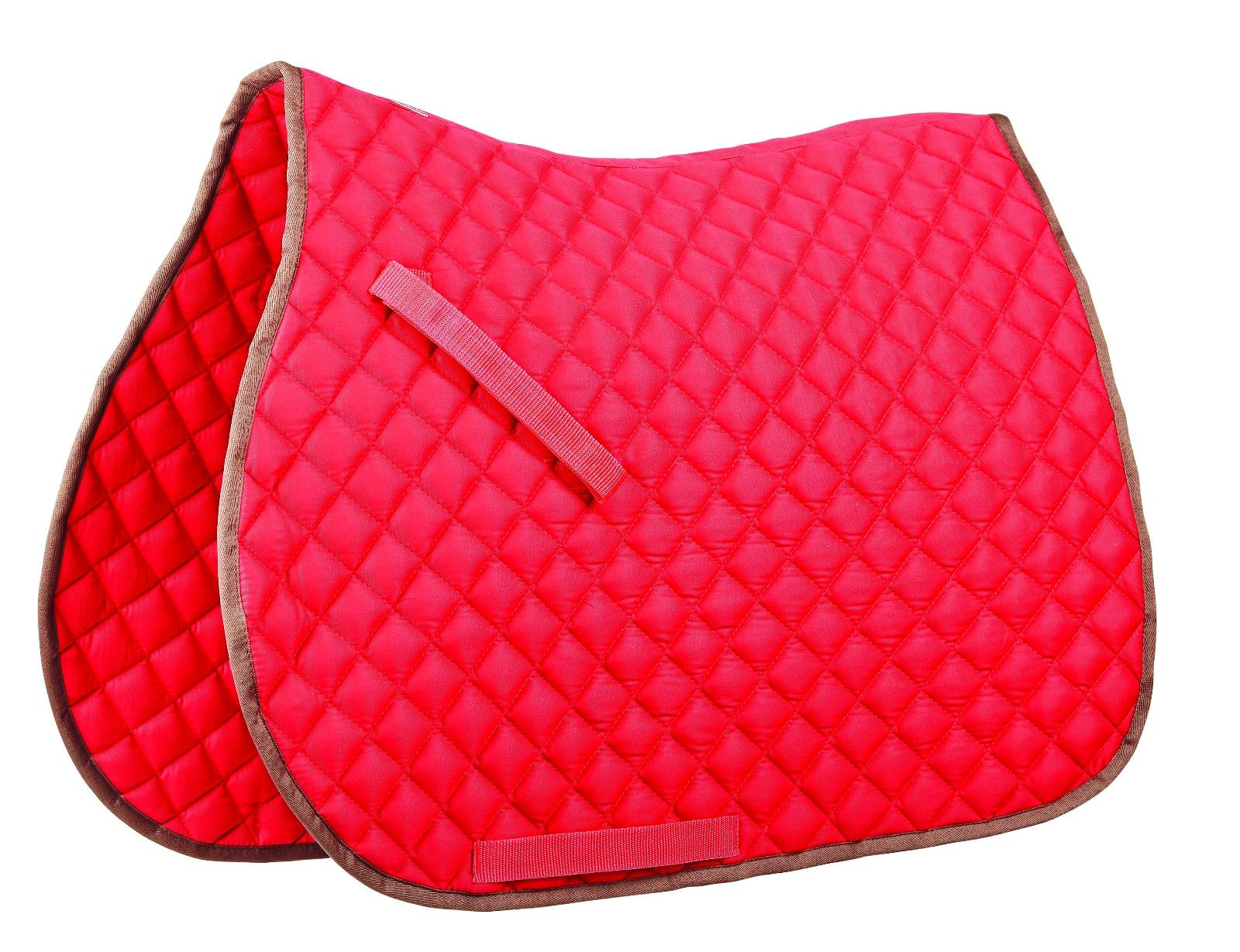 Roma Contrast Binding All Purose Saddle Pad