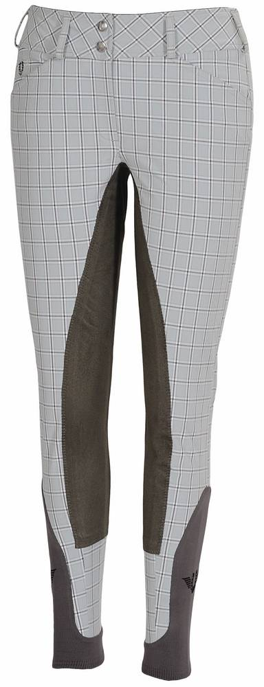 TuffRider Piaffe Plaid Full Seat Breeches Ladies