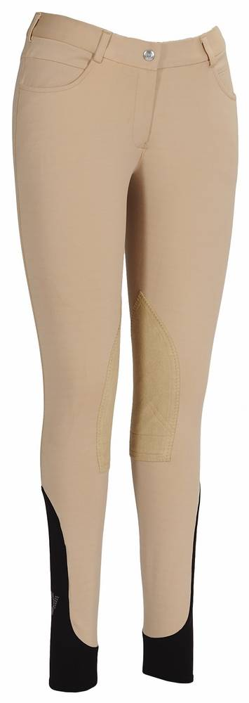 TuffRider Wellesley Knee Patch Breeches Kids