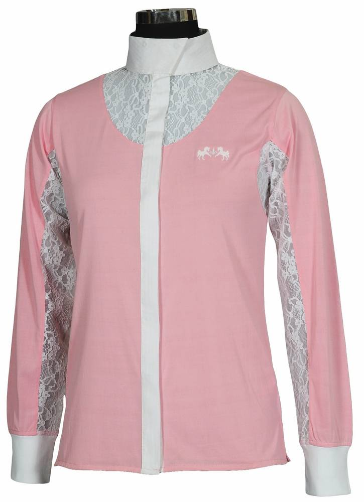 Equine Couture Celine Show Shirt Ladies Long Sleeve