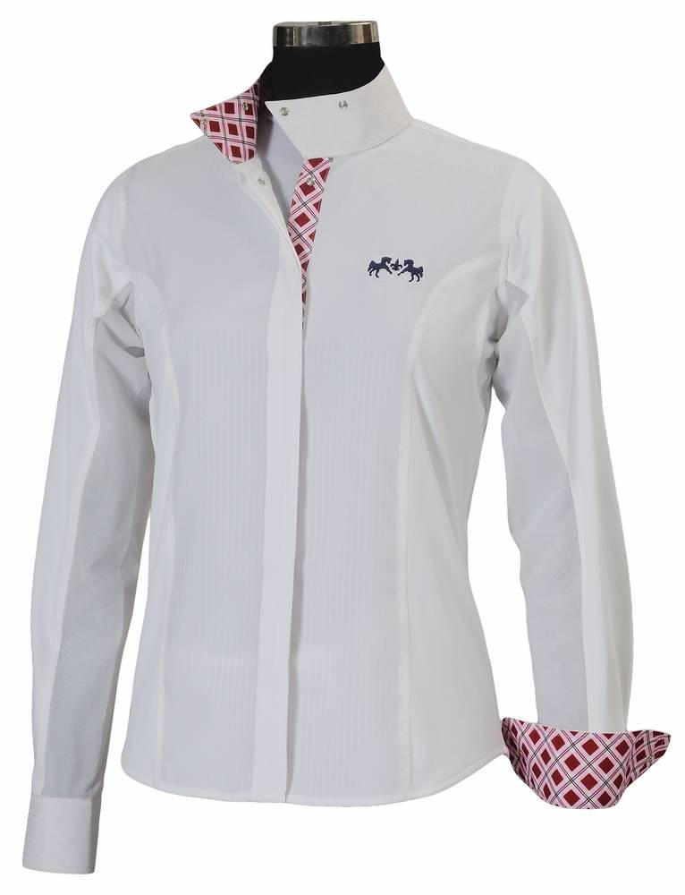 Equine Couture Jenna Show Shirt Ladies Long Sleeve