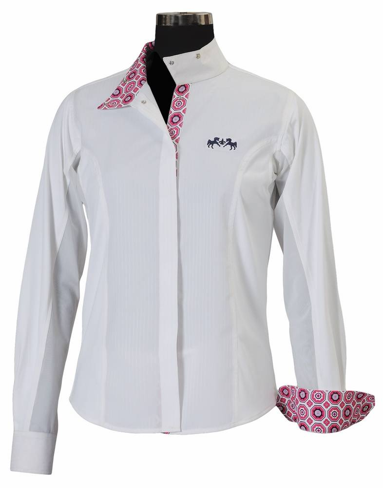 Equine Couture Kelsey Long Sleeve Show Shirt Kids