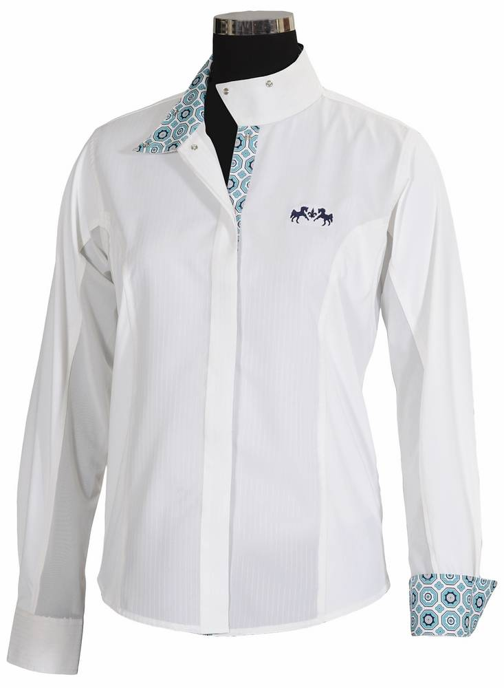 Equine Couture Kids Kelsey Long Sleeve Show Shirt