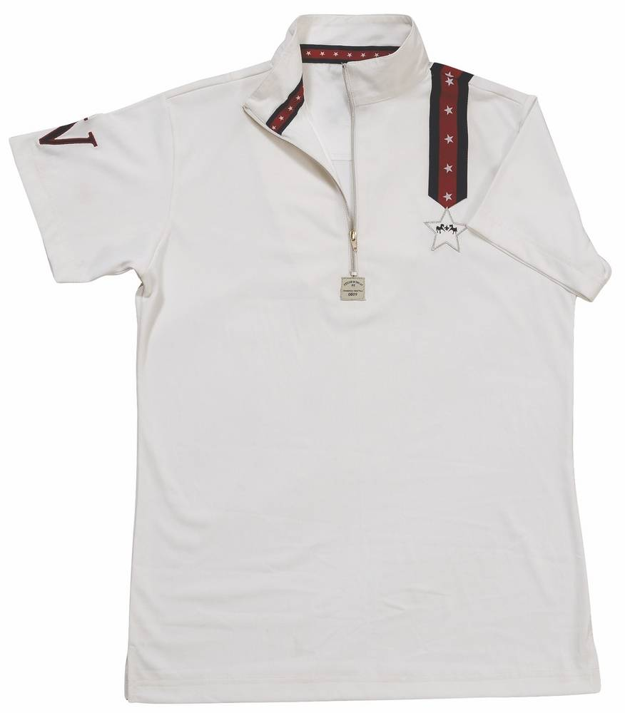 Equine Couture Star & Stripes Polo Shirt Kids S/S