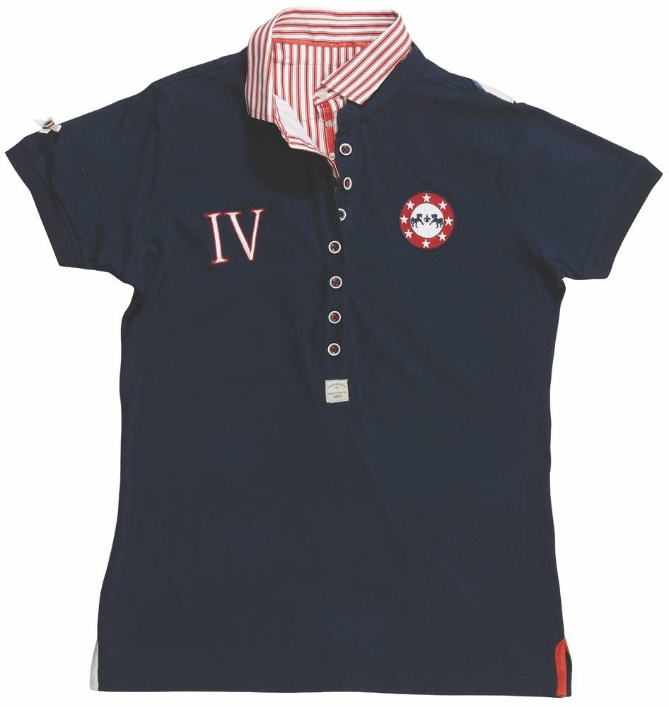 Equine Couture Skyler Polo Short Sleeve Ladies