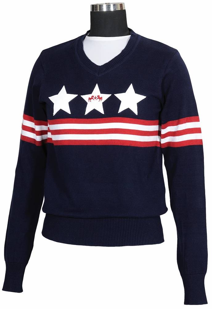 Equine Couture Stars & Stripes Sweater Kids