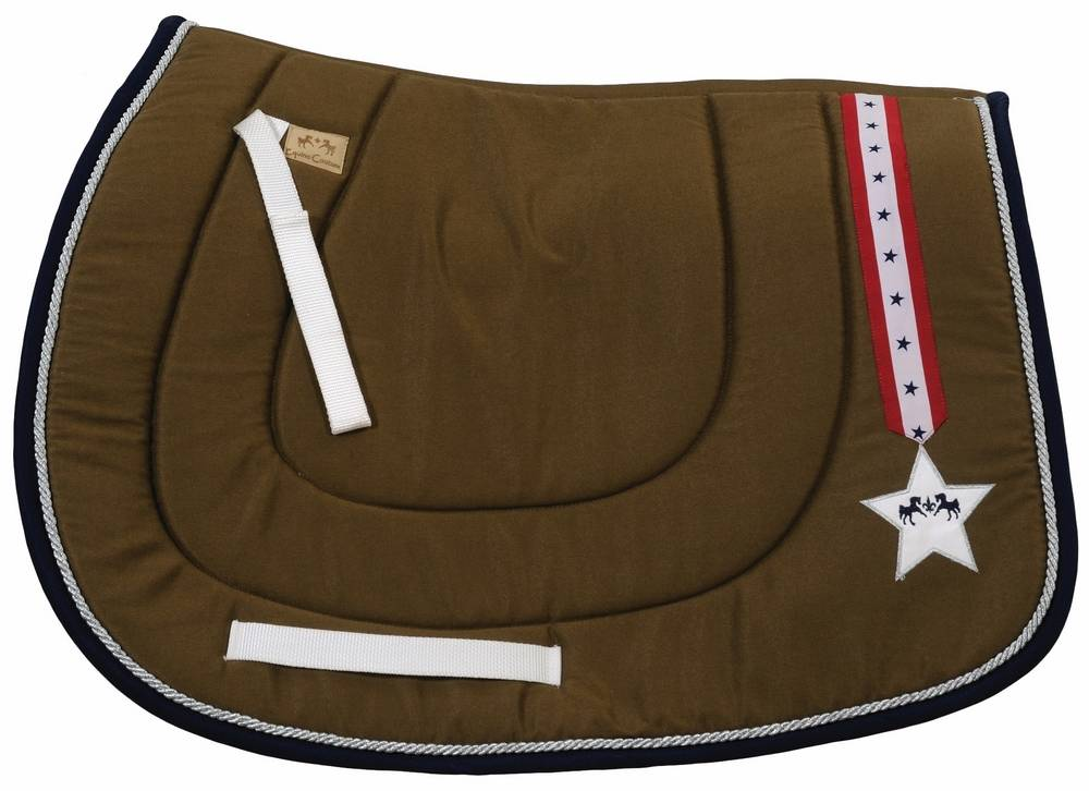 Equine Couture Star & Stripes I Saddle Pad