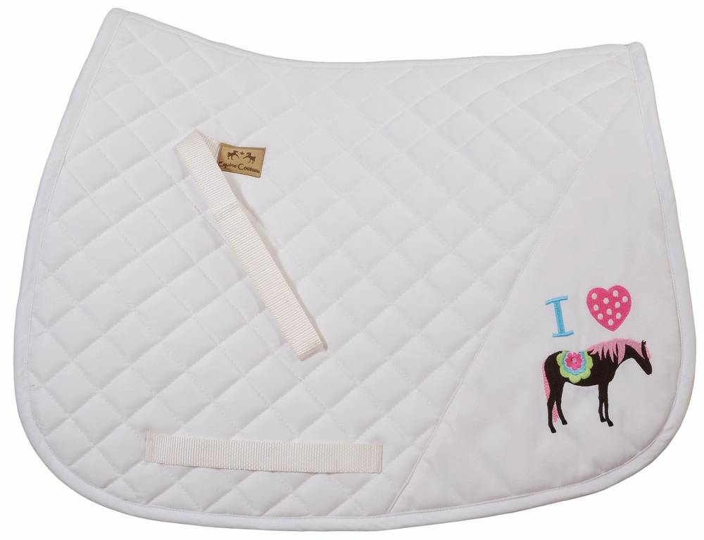 Equine Couture Pony Girl Saddle Pad