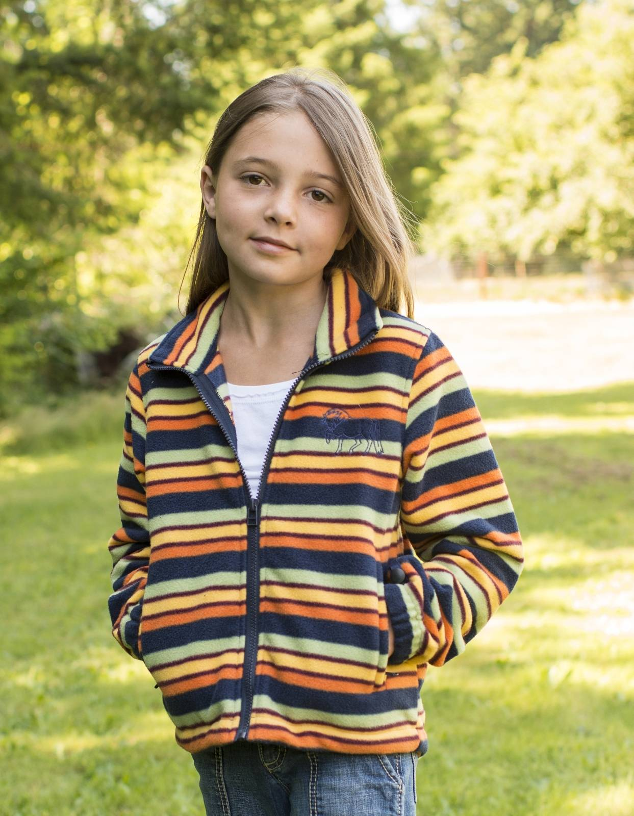 EOUS Winslow Kids Fleece - Multi Stripe