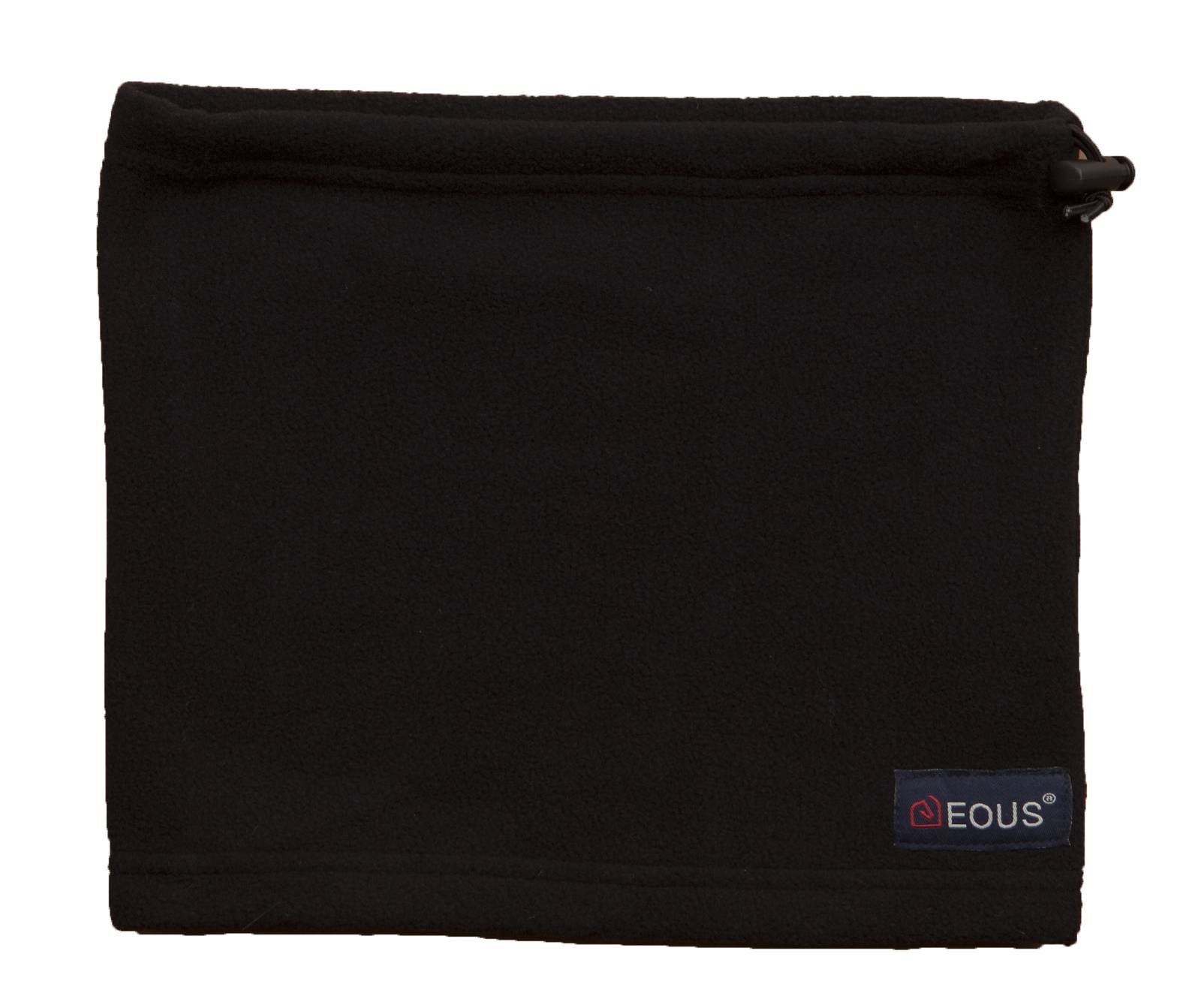 EOUS Patterned Fleece Neck Warmer