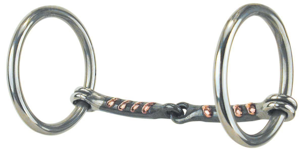 REINSMAN Stage A Traditional Loose Ring Snaffle