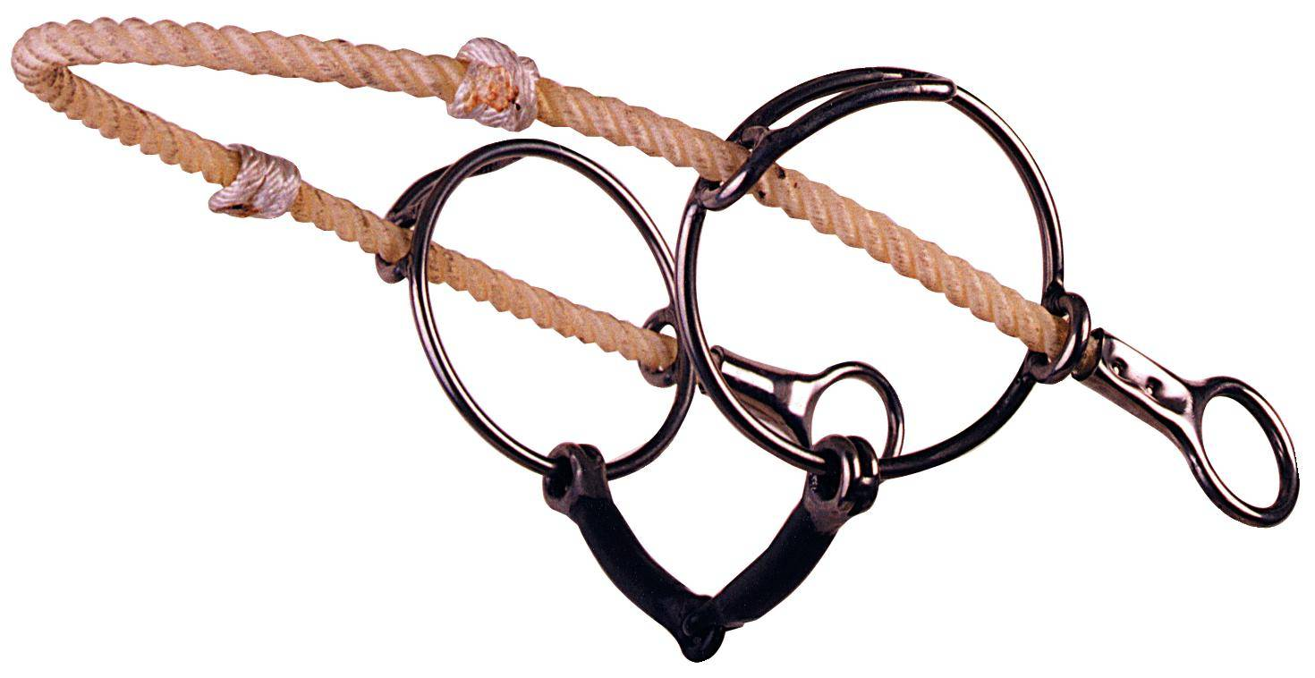 REINSMAN Stage E The ''Hank Bit'' Smooth Sweet Iron Snaffle