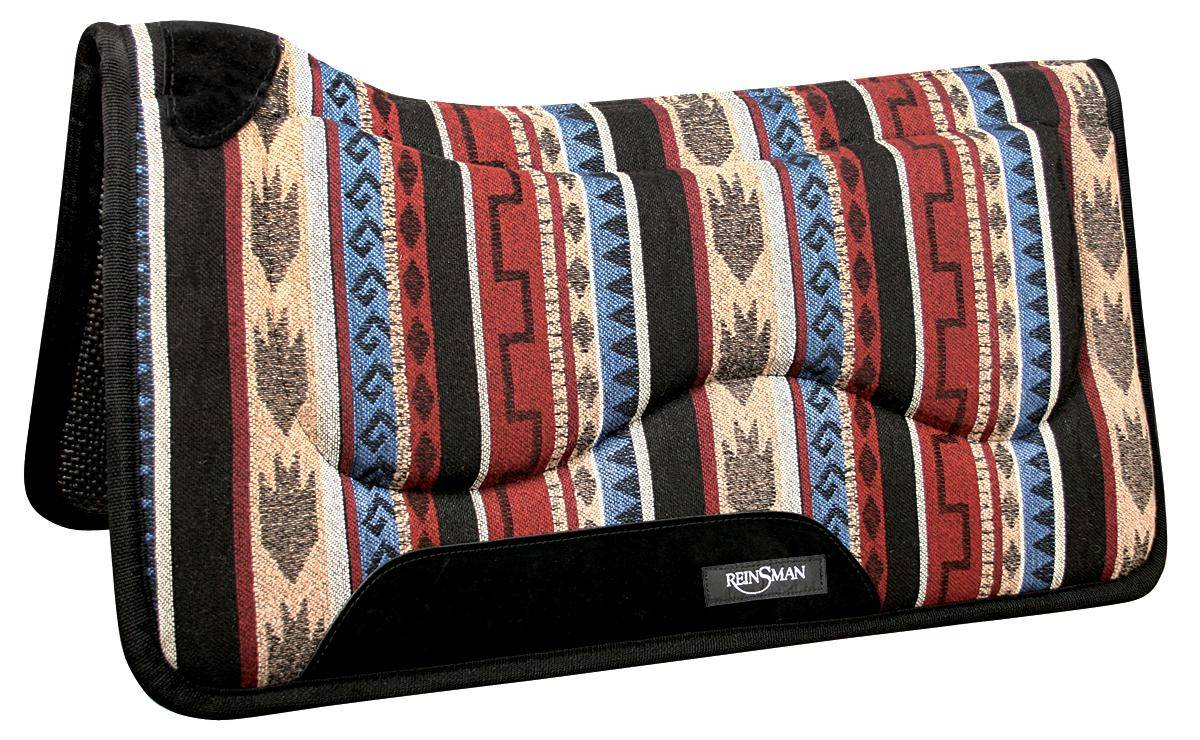 REINSMAN M2 Lite Contour Herculon Pad - Tacky Too - Norville/Dallas Green with Black Print