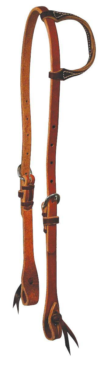 REINSMAN Tied & Twisted Cowboy Slide Ear Headstall