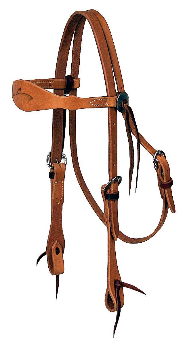 REINSMAN Sharon Camarillo Competition Shaped Browband Headstall