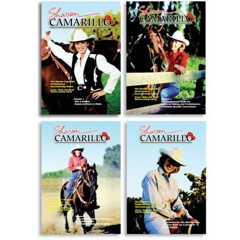 REINSMAN Sharon Camarillo Performance Horsemanship Series Dvd - Volume 1-4