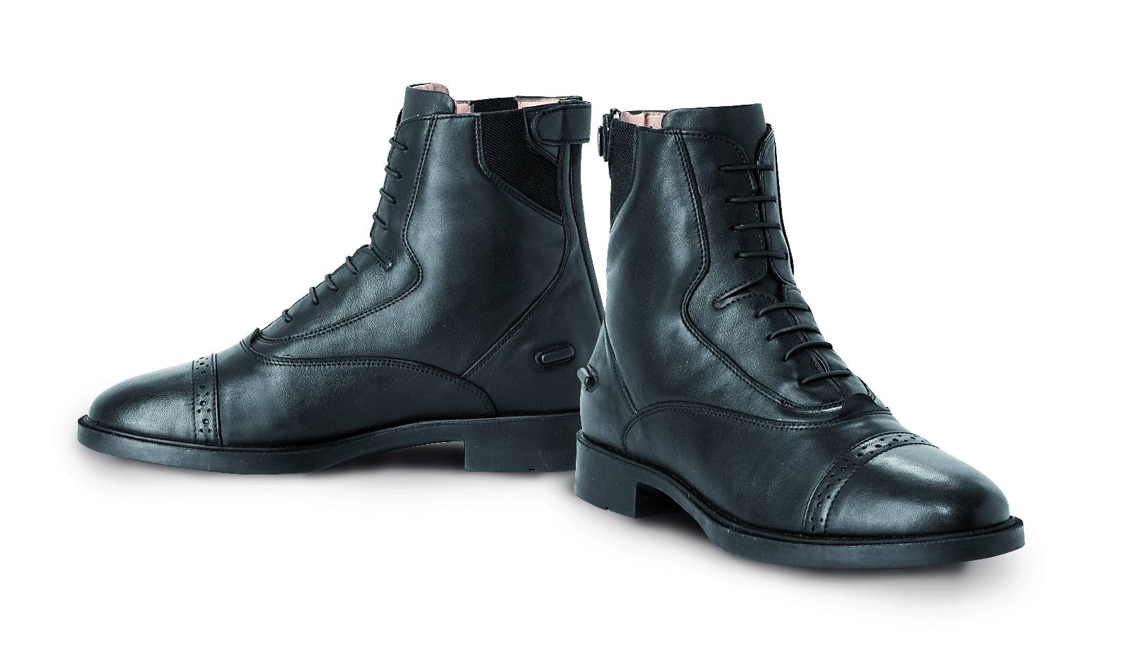 Tredstep Ireland Giotto Lace/Rear Zip Paddock Boots