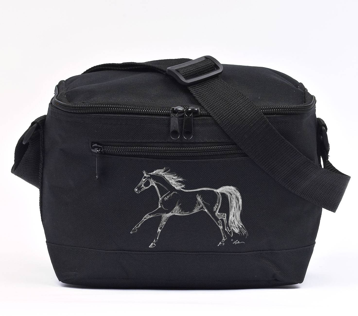 Lila Blakeslee Insulated Cooler with Running Horse Decal