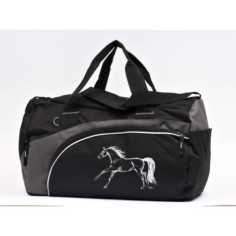 Lila Blakeslee Running Horse Print Back Pack with Dual Main Compartment