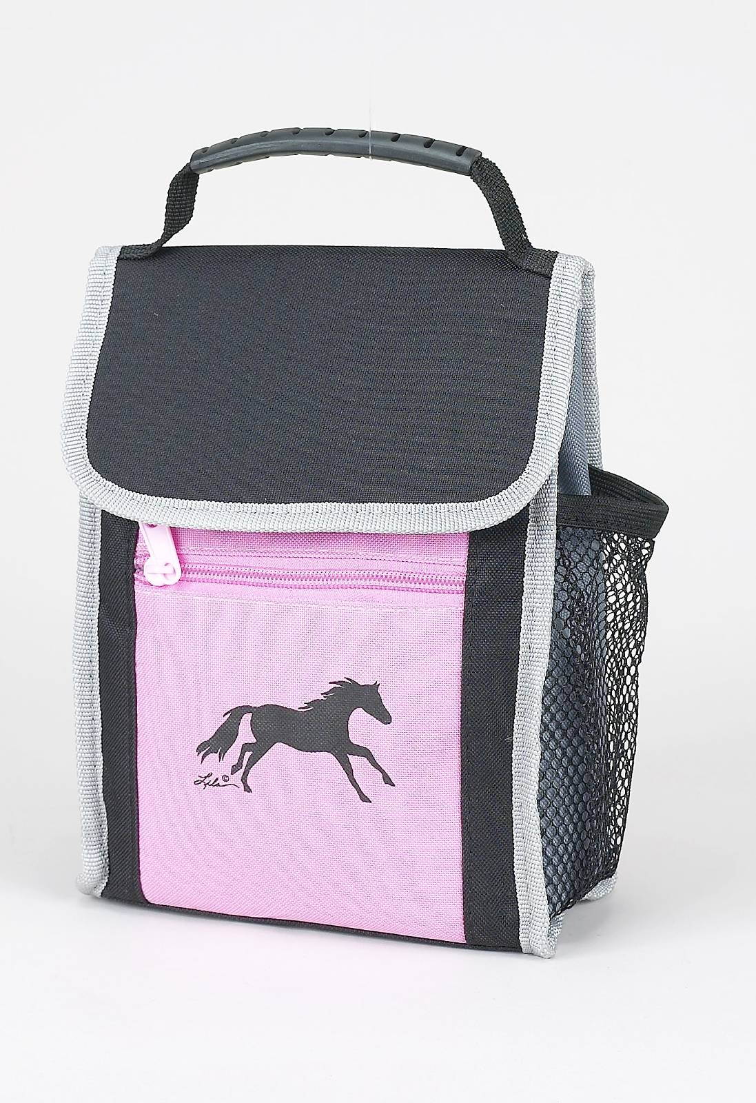 Lila Blakeslee Horse Print Insulated Cooler with Flap-Over hook & loop fastener Closure