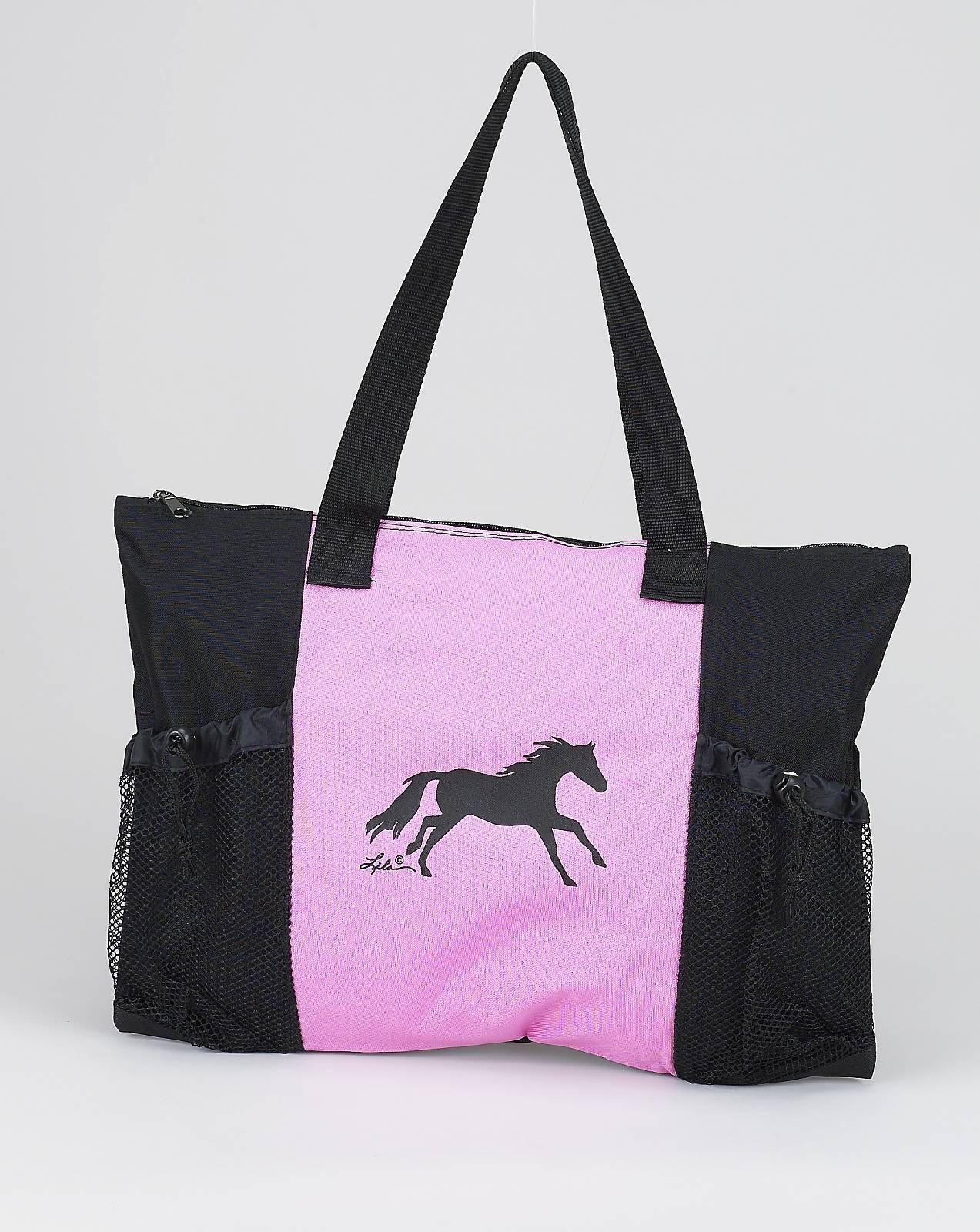 Zip Top Sturdy Tote With Draw String Closure
