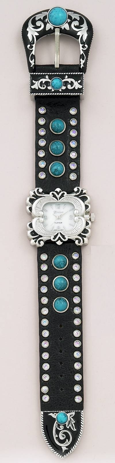 Western Style Belt Buckle Watch