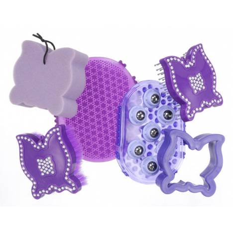 Tough-1 6 Piece Grooming Kit - Butterflies