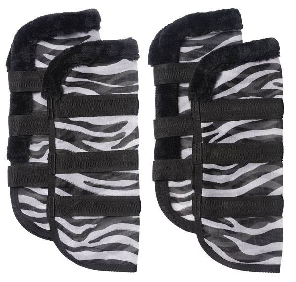 Tough-1 Zebra Mesh Fly Boots