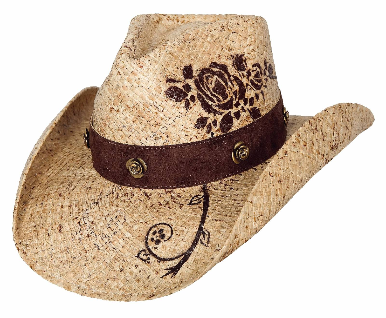 Bullhide Romantic Dream Western Straw Hat