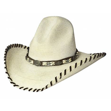 Bullhide The Last Chief 20X Palm Leaf Straw Hat