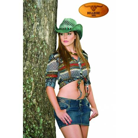 Bullhide Let It Rain Run A Muck Collection Straw Hat