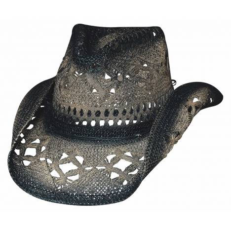 Bullhide Scorched Run A Muck Collection Straw Hat